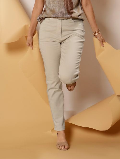 Pantalon à galon frangé
