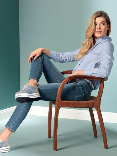 Jeans im Boyfriendstyle