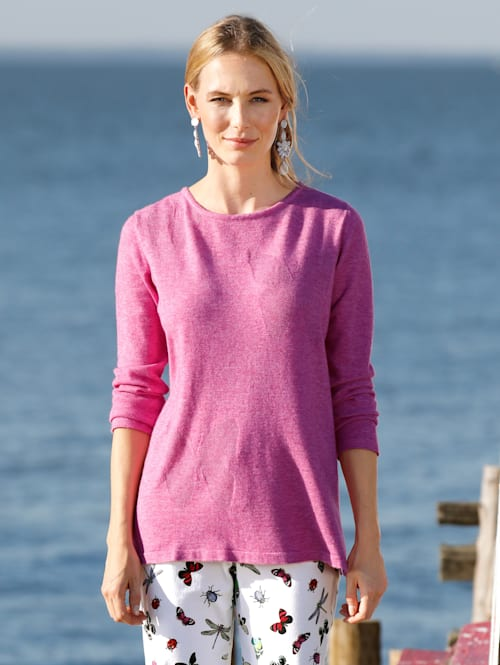 Pullover mit Schmetterlings-Muster
