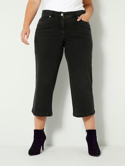 Džínsy z jemne elastického denimu