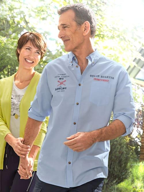Overhemd Borduursels voor