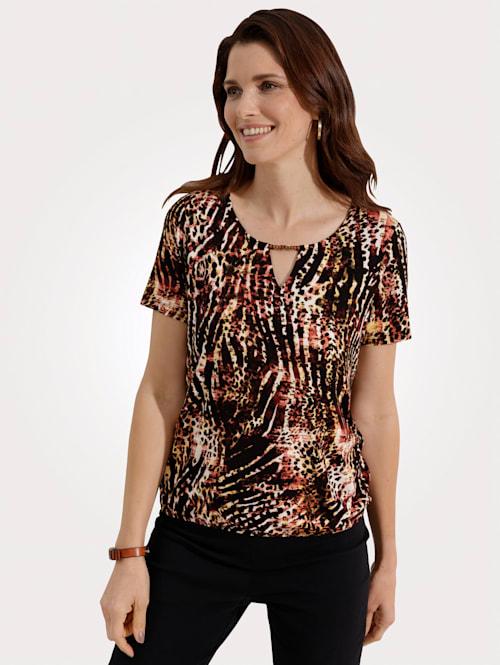 Shirt Opvallend dessin