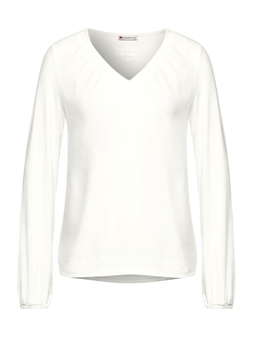 Shirt mit Smok-Details