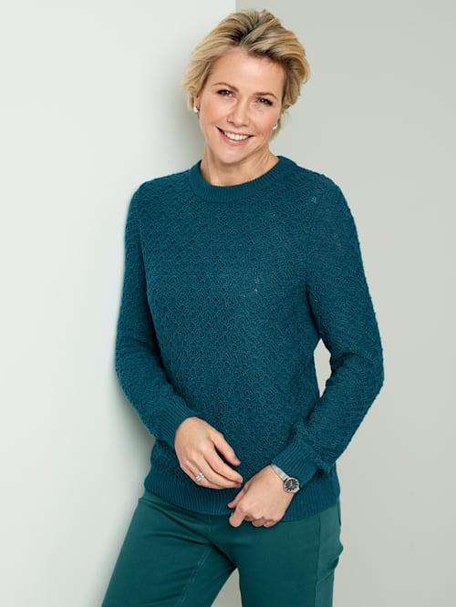 Pullover mit Ajoustrick