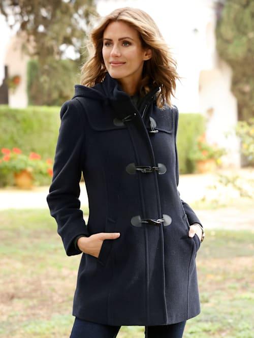 Duffle-coat avec capuche