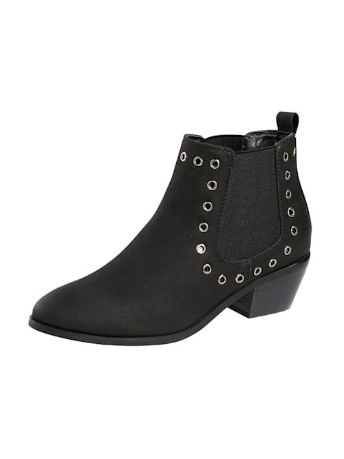 Chelsea Boot in trendstarker Western-Optik