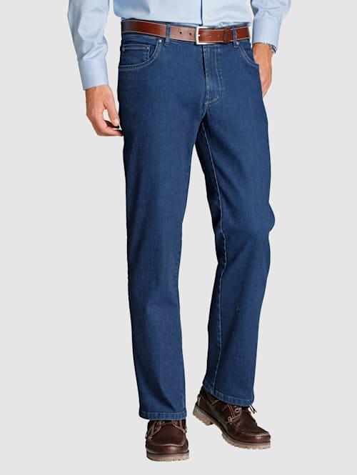 5-Pocket Jeans mit Confort-Innendehnbund