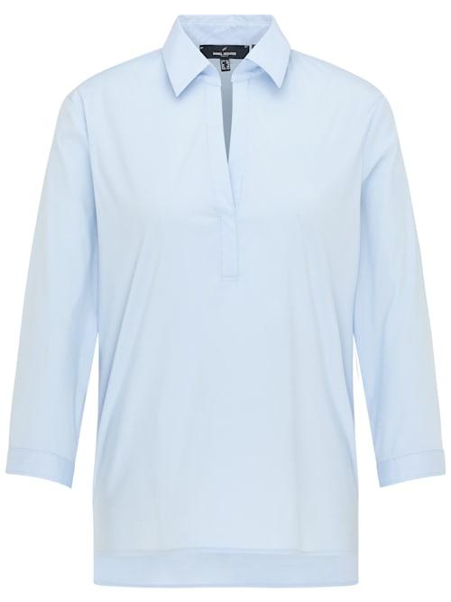 Moderne Bluse mit geradem Schnitt