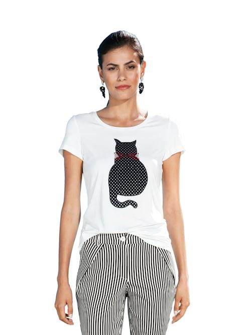 Shirt mit Katzen-Motiv