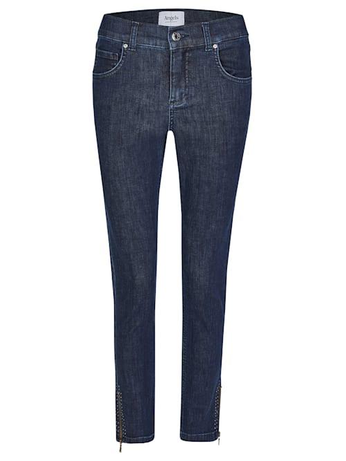 Jeans ,Skinny Ankle Zip Shine' mit modischen Details