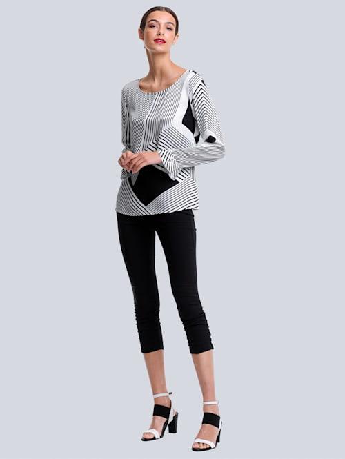 Nohavice v tvarovo stabilnej Techno kvalite