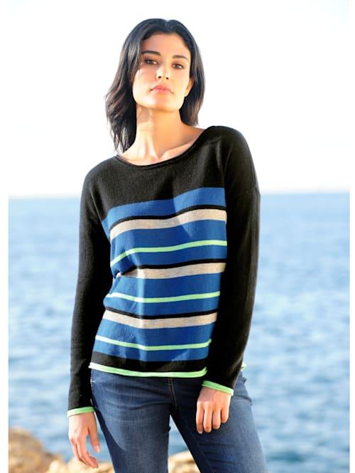Pullover aus hochwertiger Kaschmir-Qualität