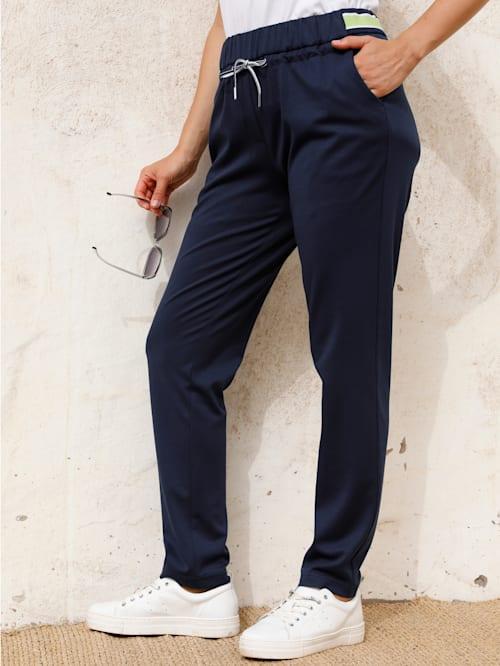 Bukse med strikklinning