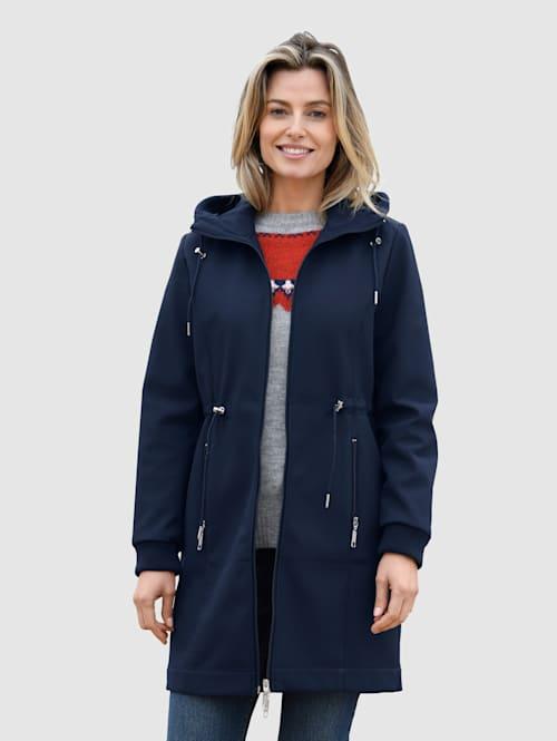 Jacke mit weichem Fleece