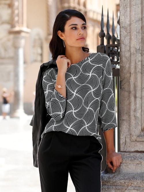 Blúzka v exkluzívnom Alba Moda dizajne