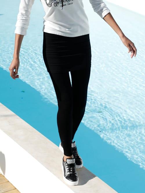 Legging avec jupe cousue