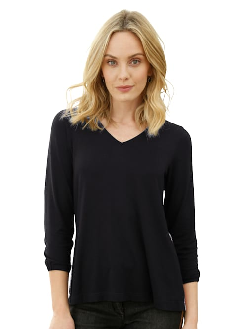 Shirt mit Rückenteil im Farbverlauf
