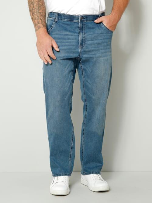 Jeans i rak modell
