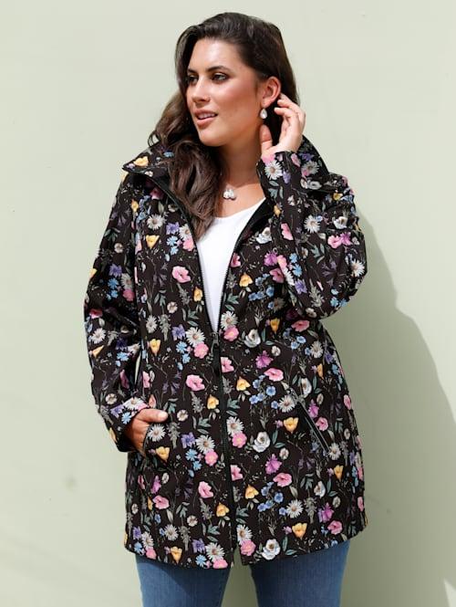 Softshell jas met afneembare capuchon