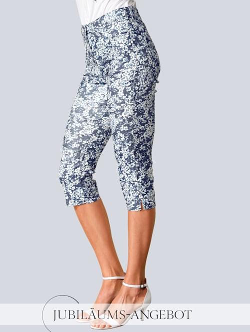 Hose 'Laura' im modischen Blumendruck
