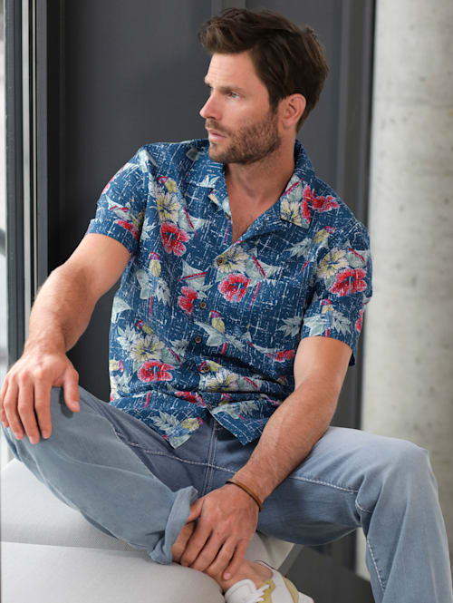 Hawai košile z čisté bavlny