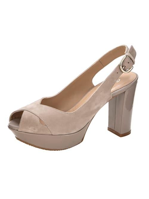 Sandaletter med trendig platåsula