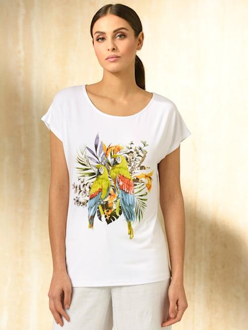 Shirt mit Dschungel-Motiv Print