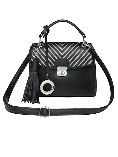 Handtasche mit abnehmbarem Emma & Kelly-Anhänger