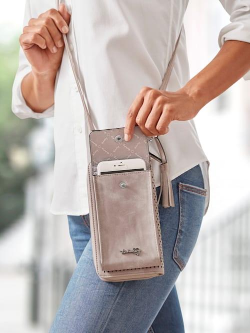 Pochette pour smartphone avec porte-monnaie