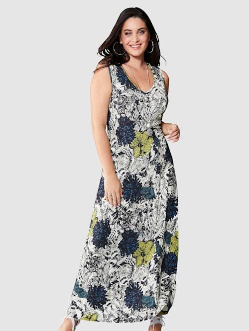 Kleid mit sommerlichem Blumendruck