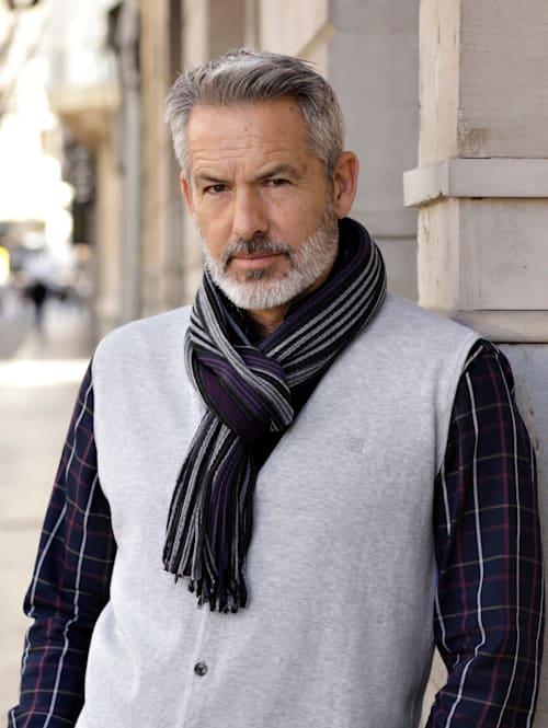 Sjaal met franjes