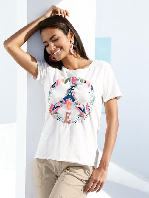 Shirt met Peace-teken