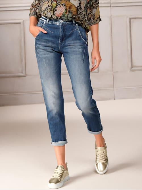Jeans mit Turn up