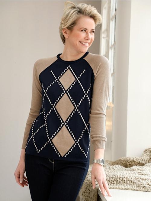 Pullover aus Jacquard-Strick