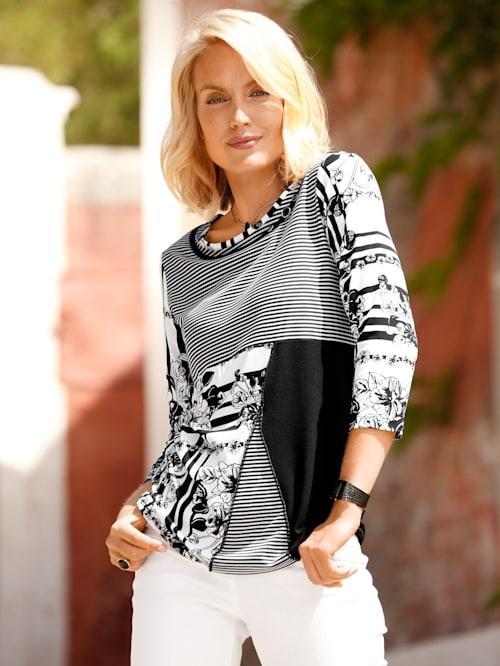 Shirt met trendy print