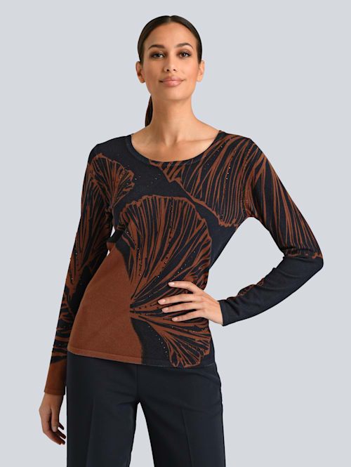 Pullover im Alba Moda exklusiven Dessin