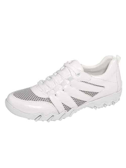Šněrovací boty se vzdušnými mesh vsadkami