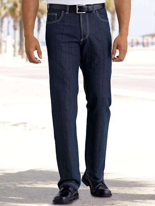 Jeans van strijkarm materiaal