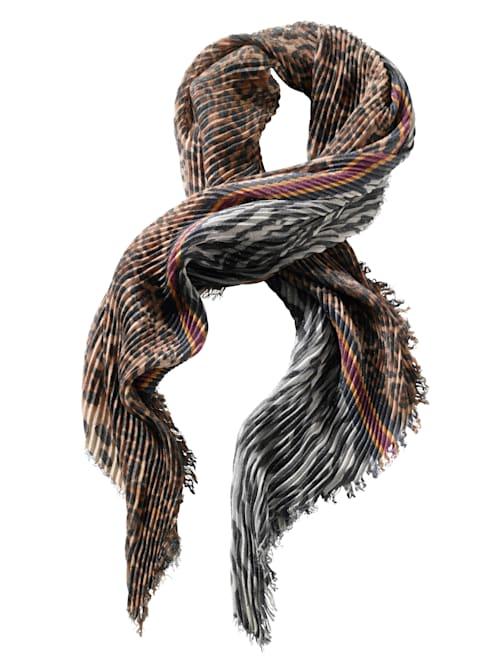 Sjaaltje met plissé