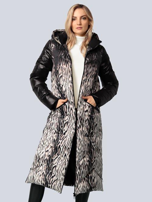 Mantel mit Animalprint