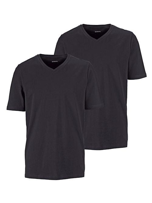 T-Shirts, 2er Pack mit V-Ausschnitt