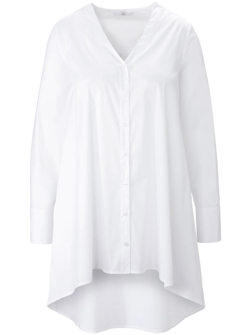 Langarmbluse Long-Bluse