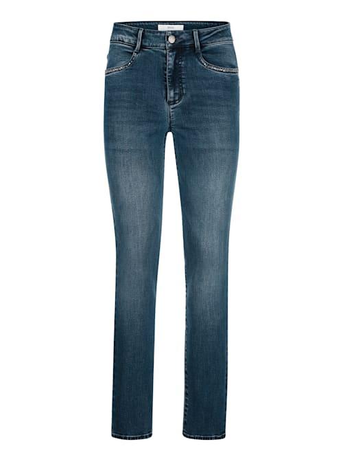 """Jeans """" Shakira"""" mit Schmucksteinchen"""