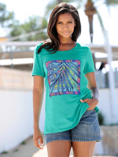 Strandshirt mit Frontdruck