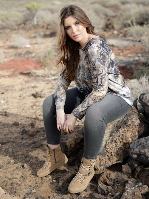 Jeans in trendy enkellang model