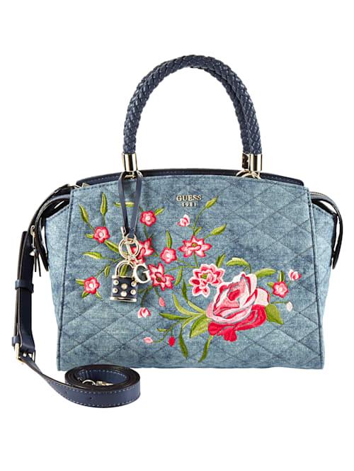 Handtasche mit Stickerei