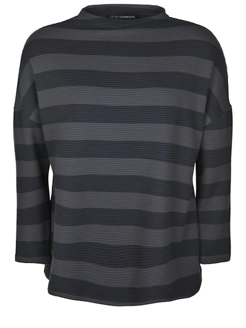 Pullover mit Streifen-Muster