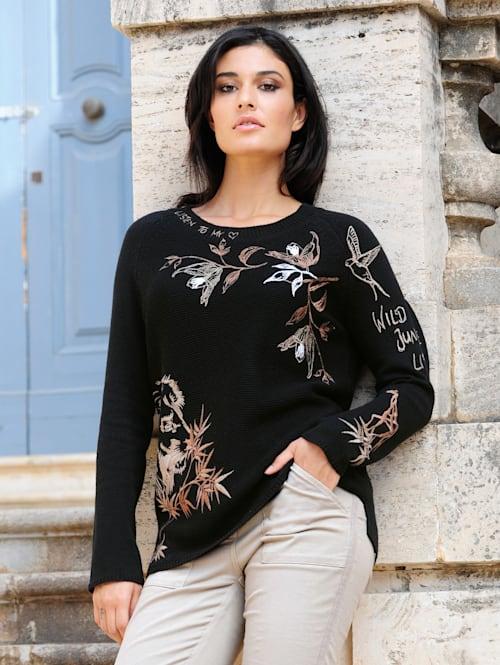 Pullover im ausdrucksstarken Strukturstrick