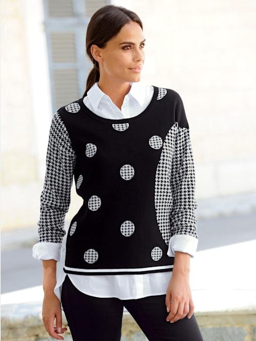 Pullover im exklusiven Alba Moda Dessin