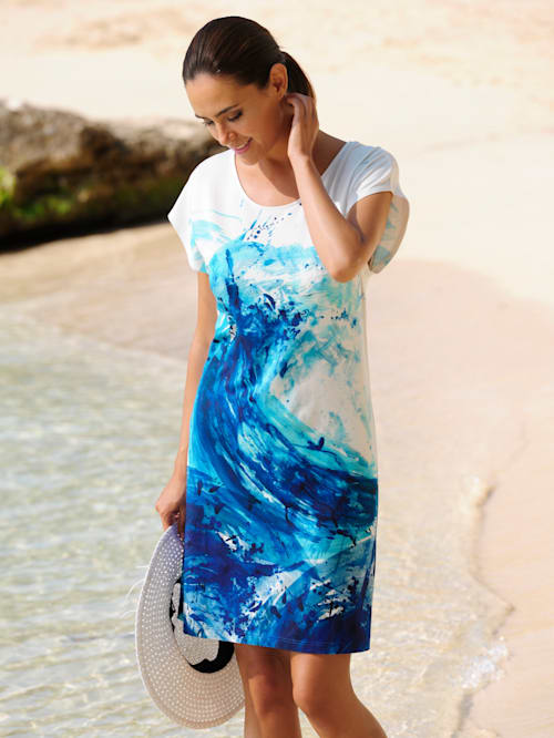Strandkleid im unkompliziertem Style
